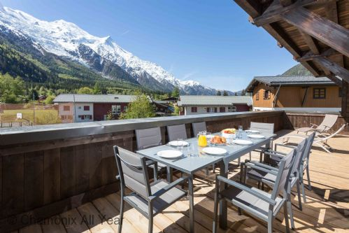 Grand Paradis 11 apartment in Chamonix town centre
