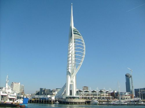 The Spinnaker Tower at Portsmouth