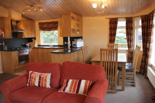 PARK LODGE, Pooley Bridge Holiday Park, Ullswater.