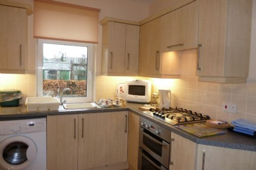 Limhus Cottage, kitchen, Lakes Cottage Holidays