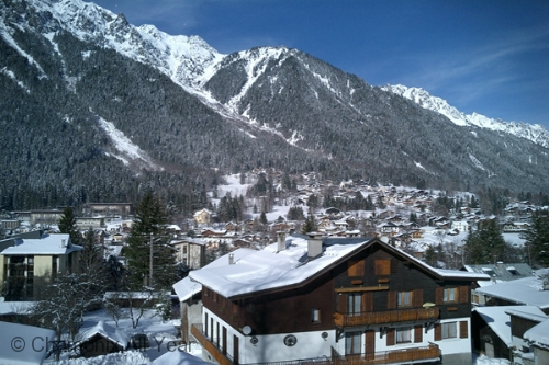 Winter in Chamonix