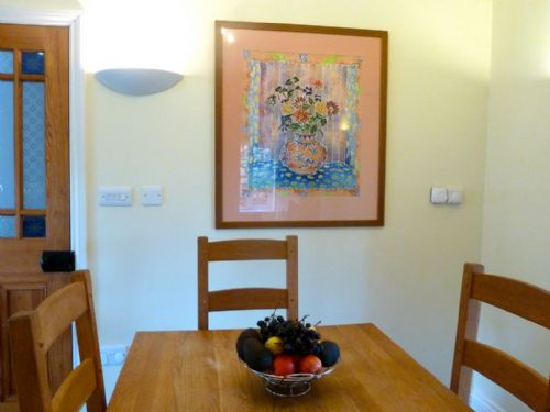 Greenbank Farmhouse, kitchen dining area, Lakes Cottage Holidays
