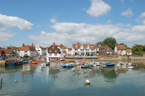 The quay side in Emsworth