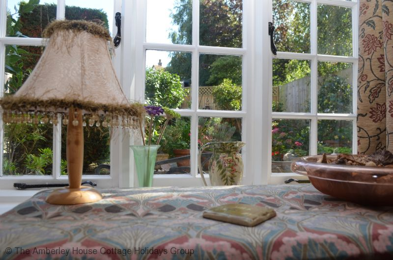 Large Image - Tail End Cottage - View from the lounge of the garden
