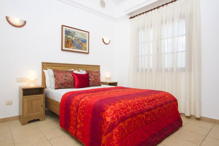 Casa Morgana's master bedroom