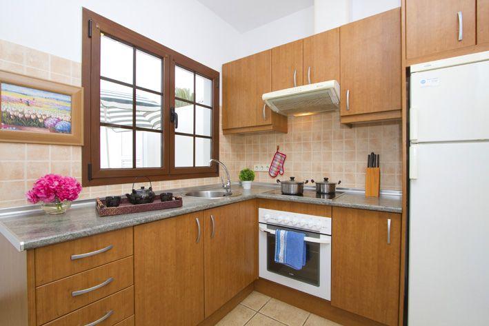 Casa Morgana's kitchen in Playa Blanca, Lanzarote