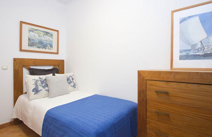 Small guest bedroom in Casa Clara, Playa Blanca