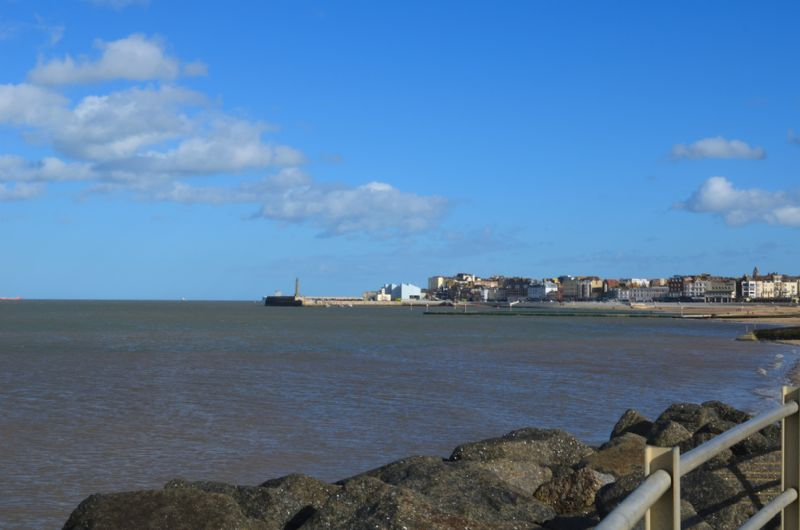 Sea views towards Margate Old Town