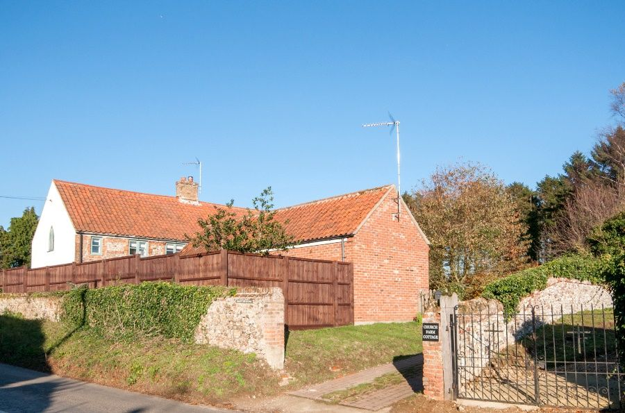Church Farm Cottage with Studio | Outside