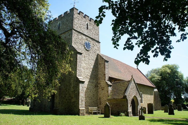 St Mary's Church in Bearsted