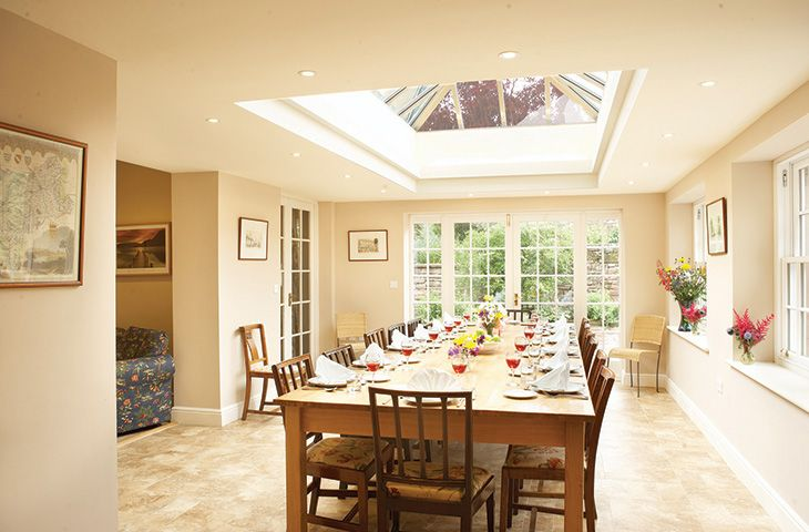 Ground floor: Orangery dining area