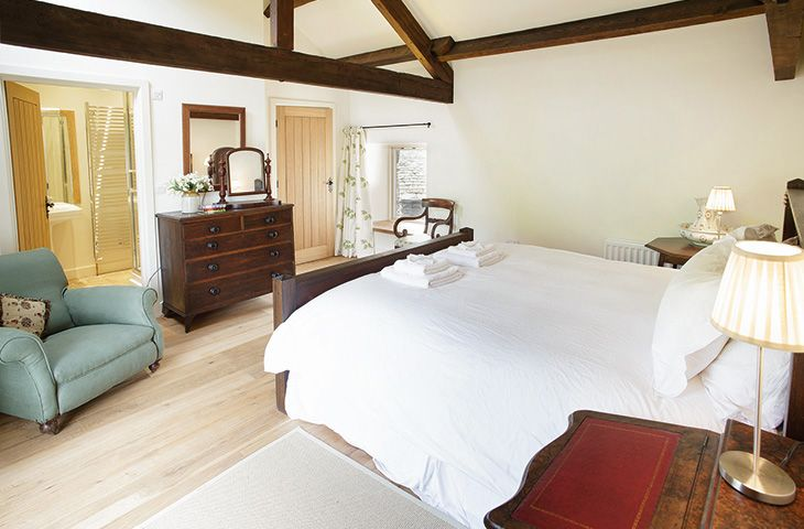 Hause Hall Farm, First floor:  Master bedroom