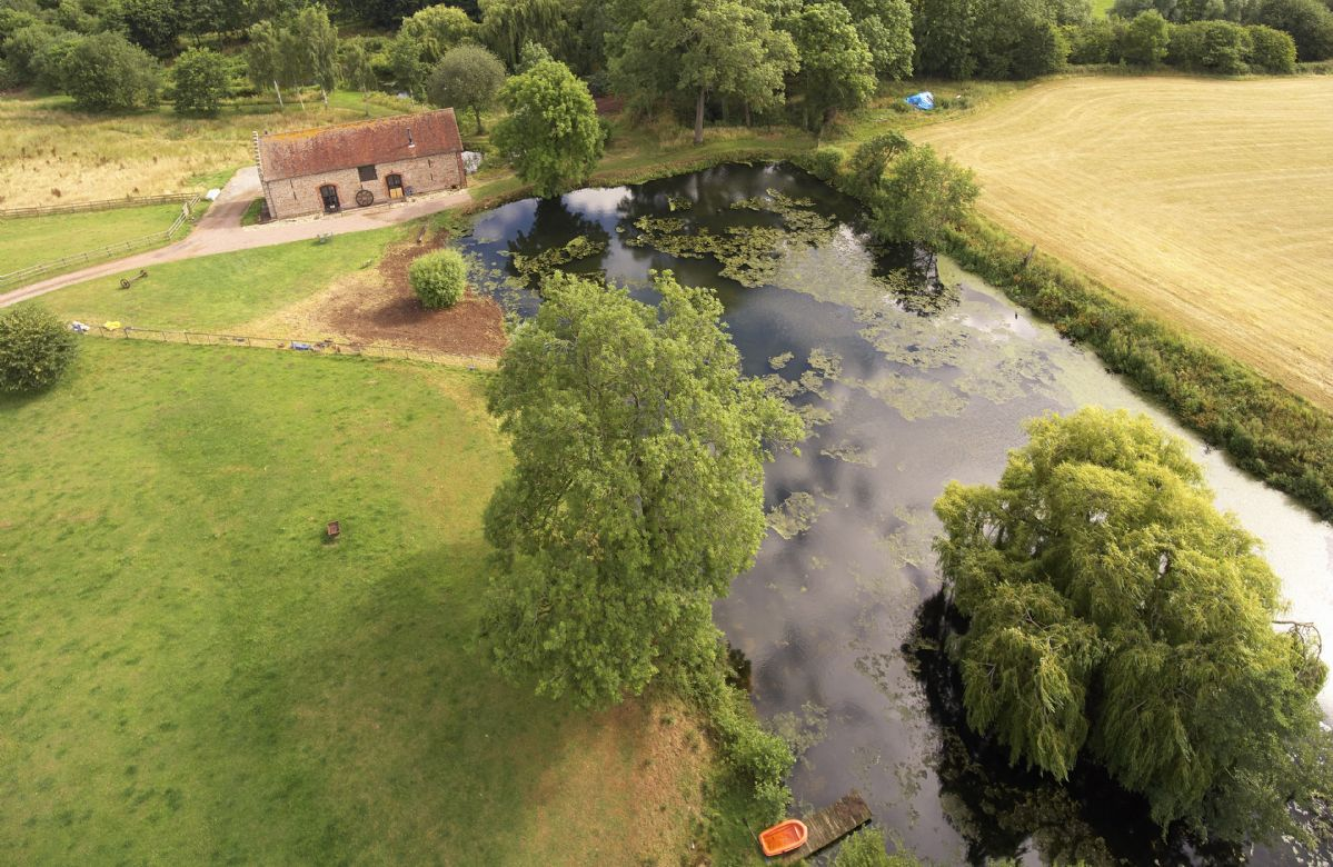 The grounds surrounding Pauntley Court are perfect for leisurely walks. Start at The Dovecote and follow the 'Poets Walk' down to the lake and River Leadon