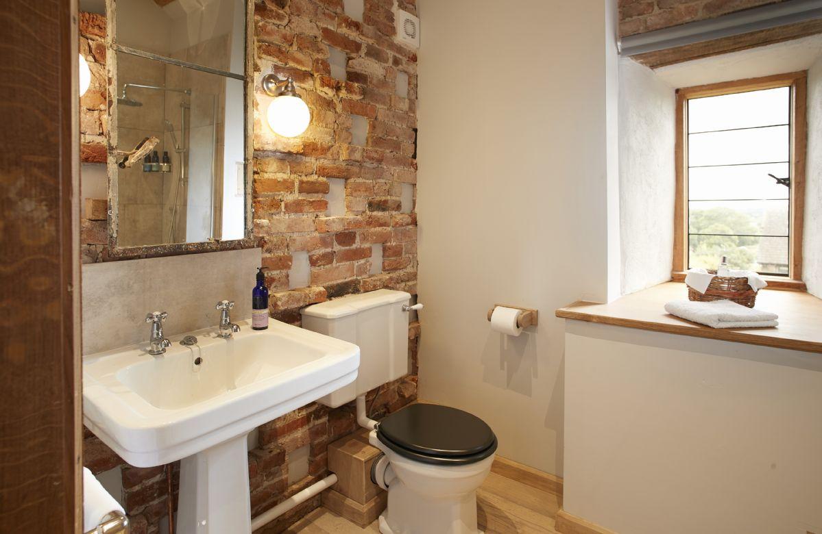 Second floor: En-suite shower room with underfloor heating