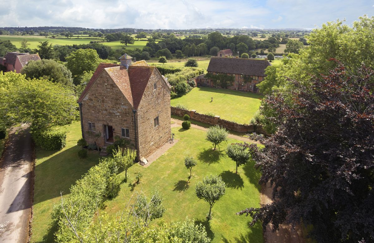 The Dovecote has its own private garden with seating area and barbeque
