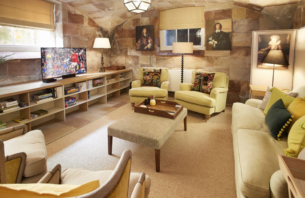 Lower ground floor: Games room