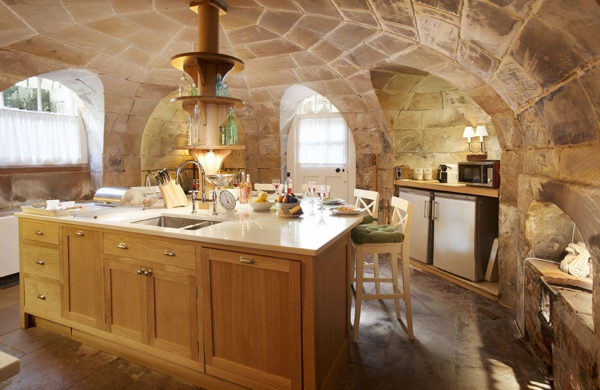 Lower ground floor:  Kitchen