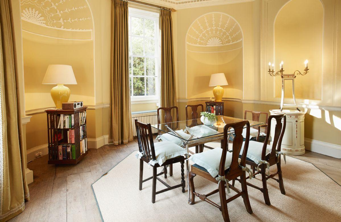 Ground floor:  Dining room