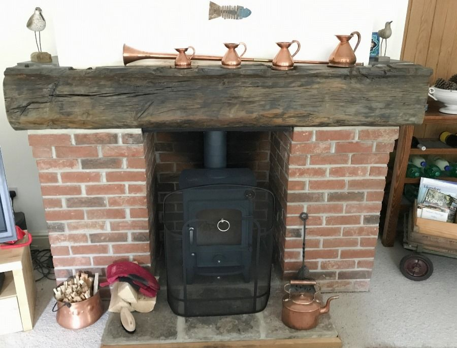 Brancaster House | New wood burner
