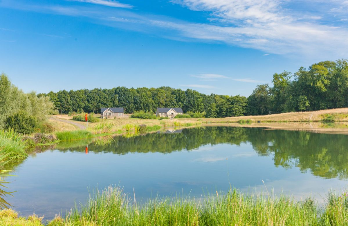 Endymion lodge holiday cottages in east anglia for Private fishing lakes