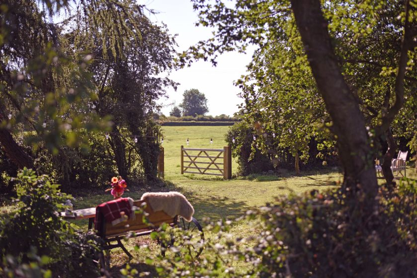 Gate leading out to the fields