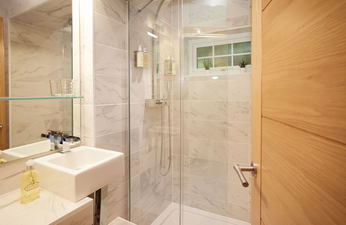 Ground floor: Separate family shower room