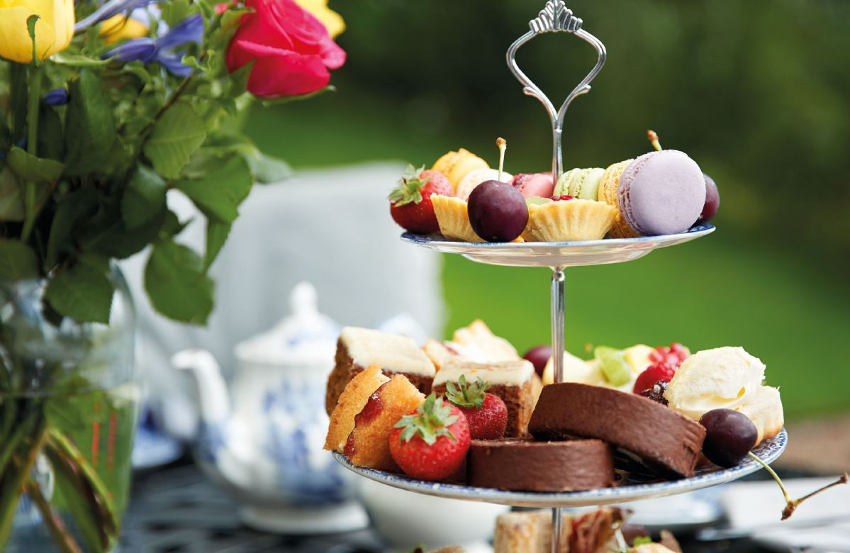 Relax and enjoy afternoon tea in the garden