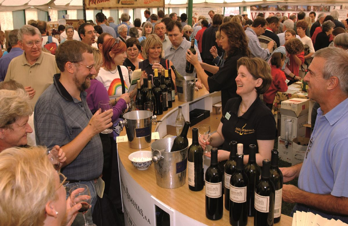 Ludlow Food and Drink Festival is within easy reach