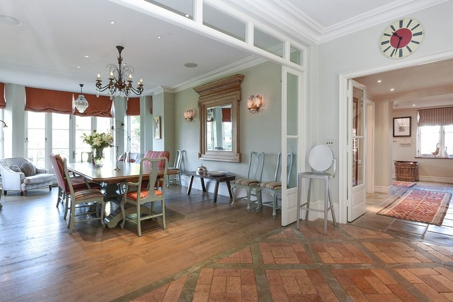 Old Rectory | Dining room into kitchen