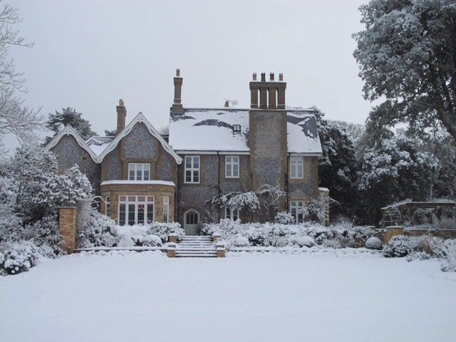 Old Rectory | White Christmas