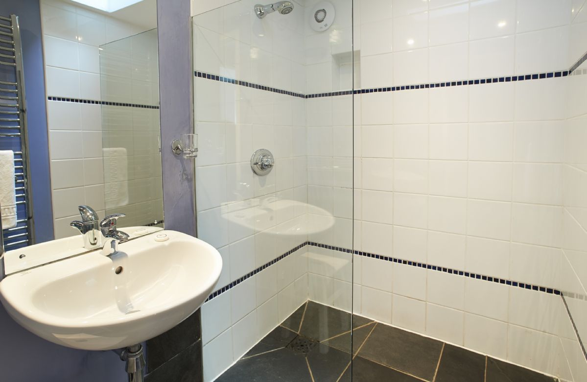 Ground floor:  Wetroom with shower only