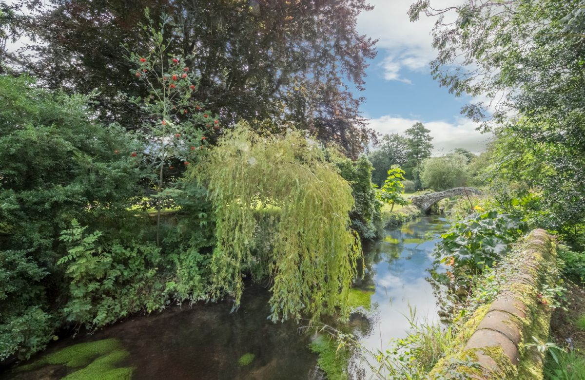 Situated in an idyllic location on the banks of the River Glaven in Letheringsett