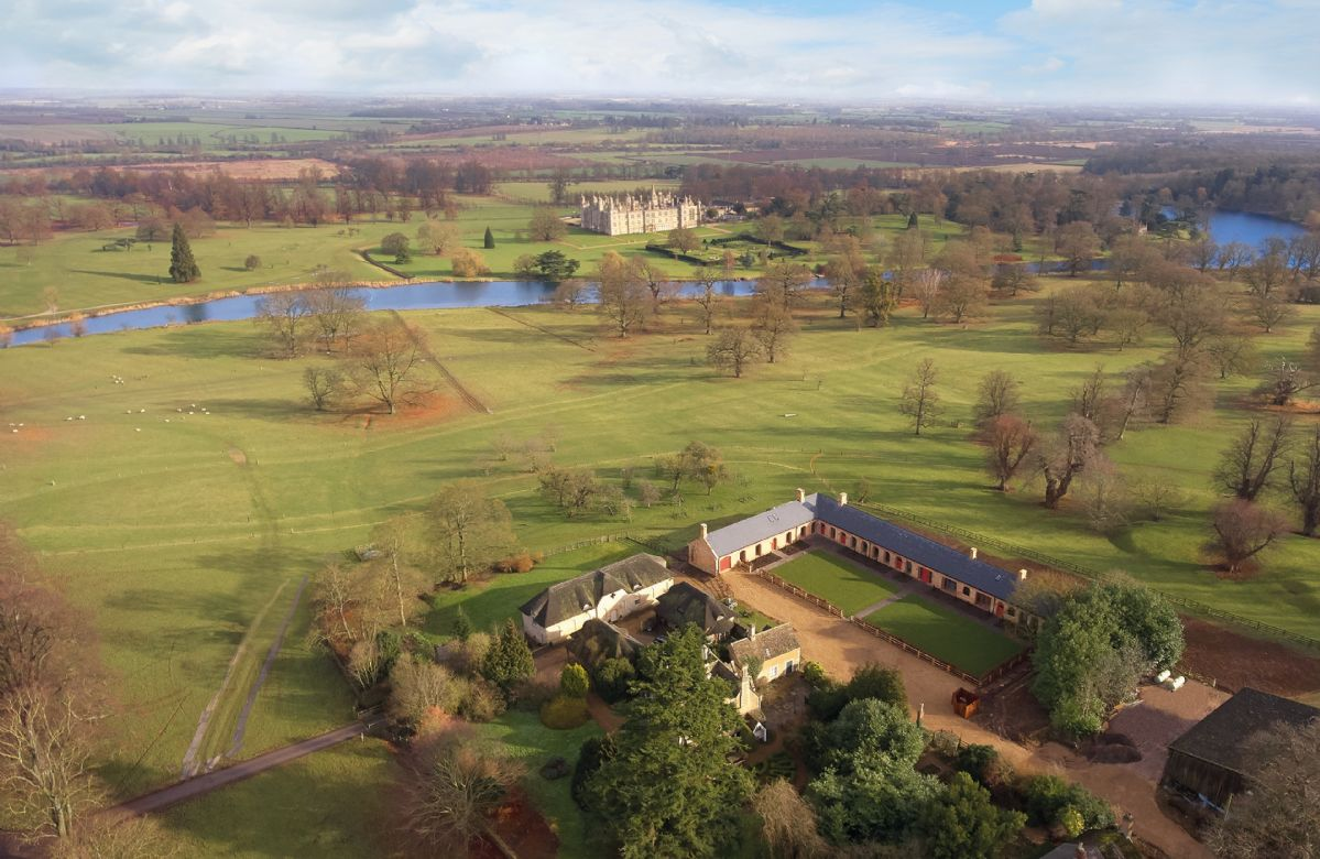 The Dairy sits on the Burghley Estate in the heart of 'Capability' Brown parkland, landscaped during the 1760's.