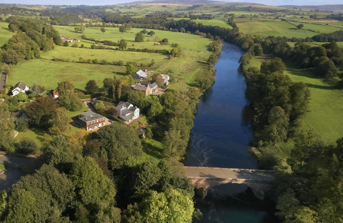 Riverside Retreat at Low Flatts, Cumbria, England
