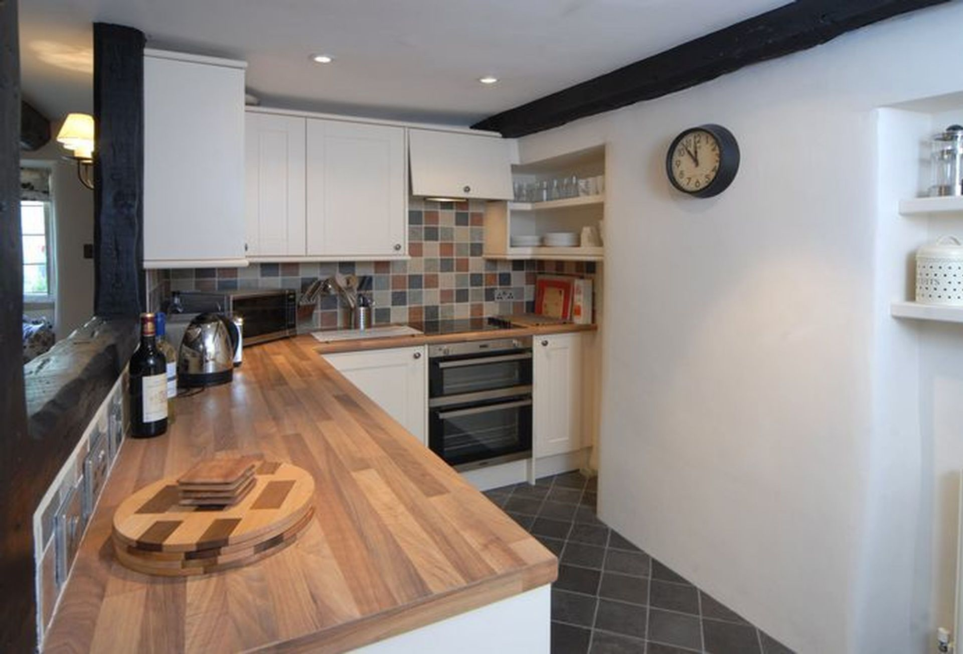 An aspect of the fully-fitted Kitchen