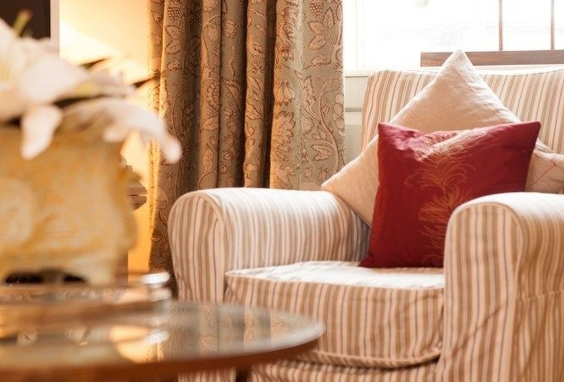 Comfortable seating in the Sitting Room