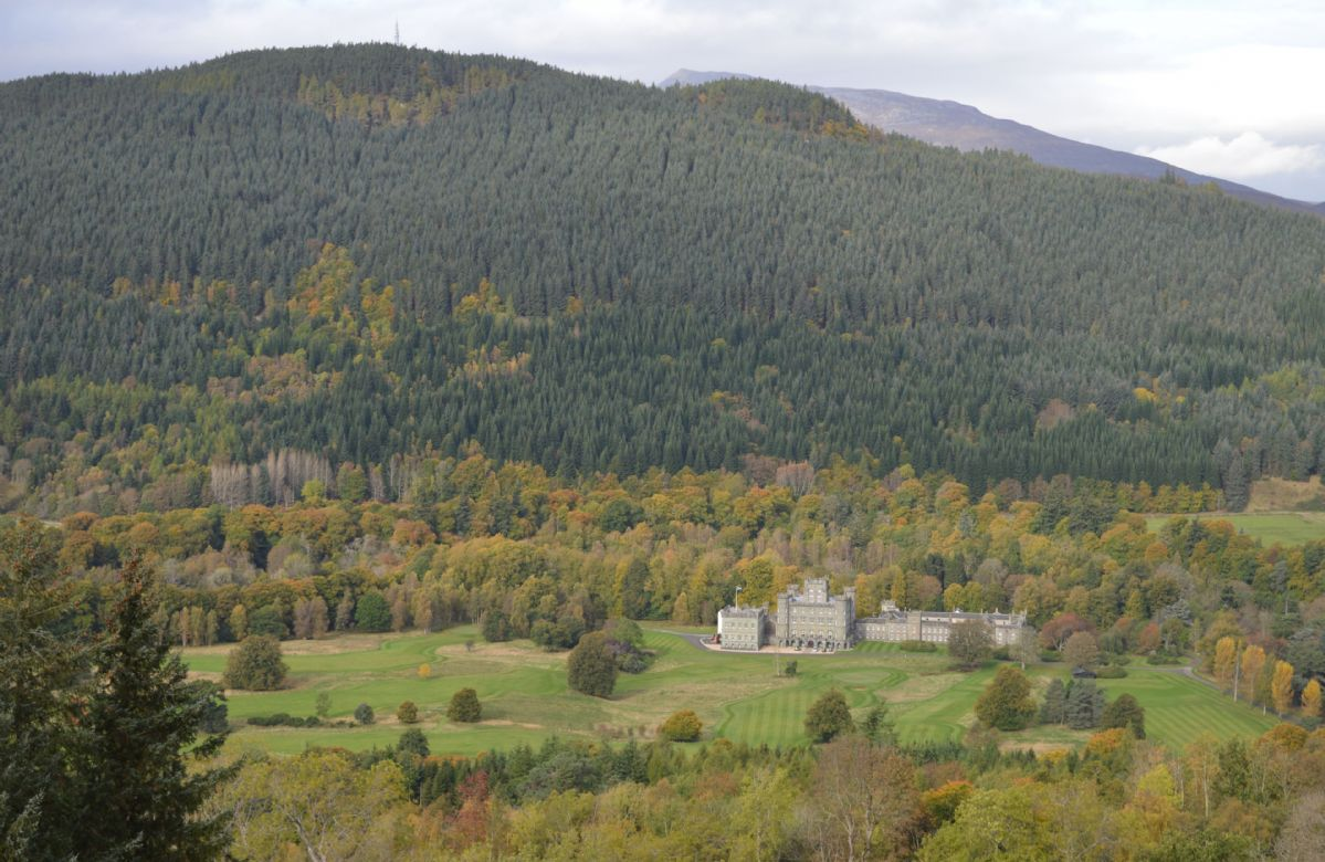 Views to Taymouth Castle