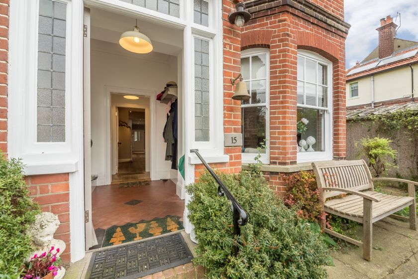 Danes House occupies the ground floor of an elegant town house in the heart of aldeburgh