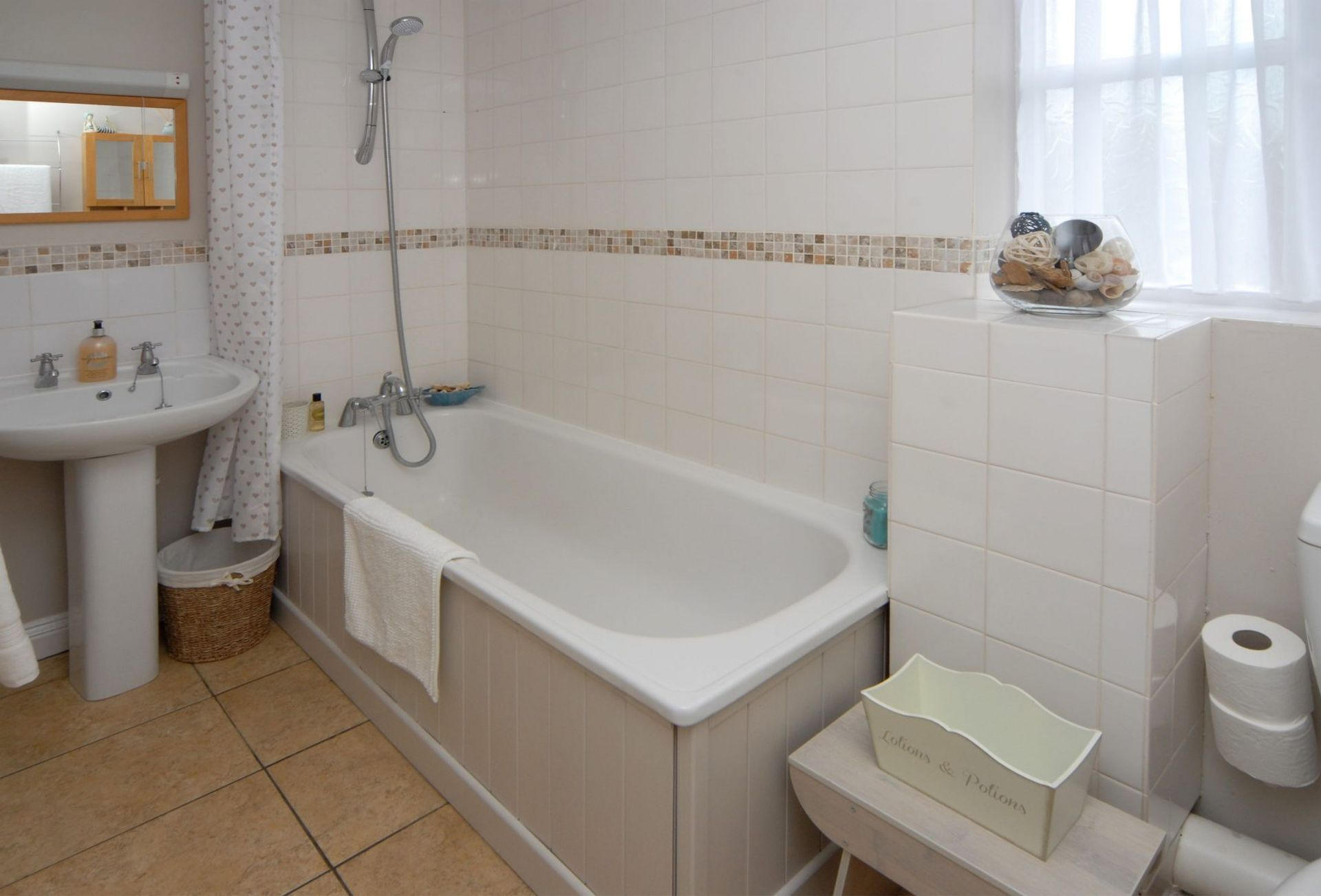A view of the Family Bathroom