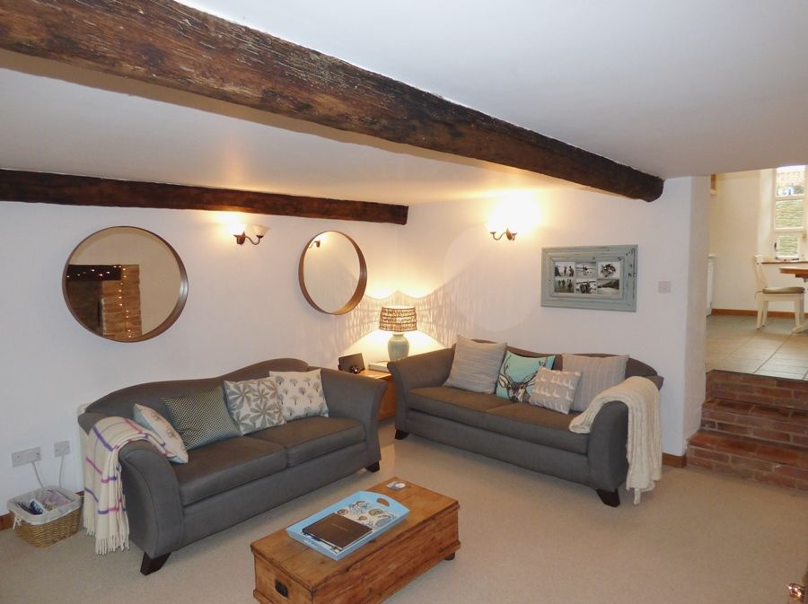 Lime Cottage | Sitting room thro to kitchen