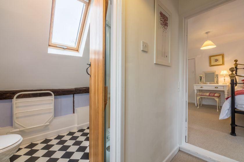 First floor: Shower room off the landing