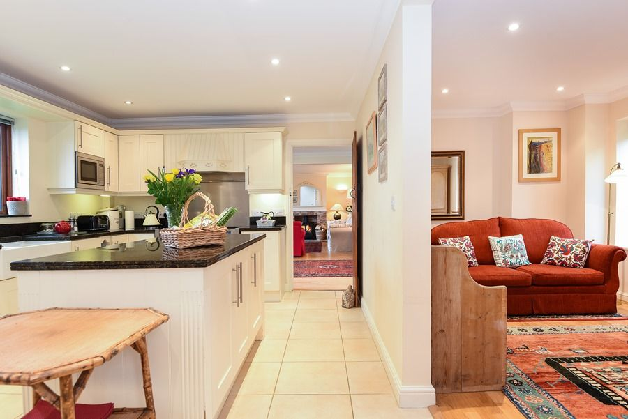 Beech House 2 bedrooms | Kitchen thro to snug