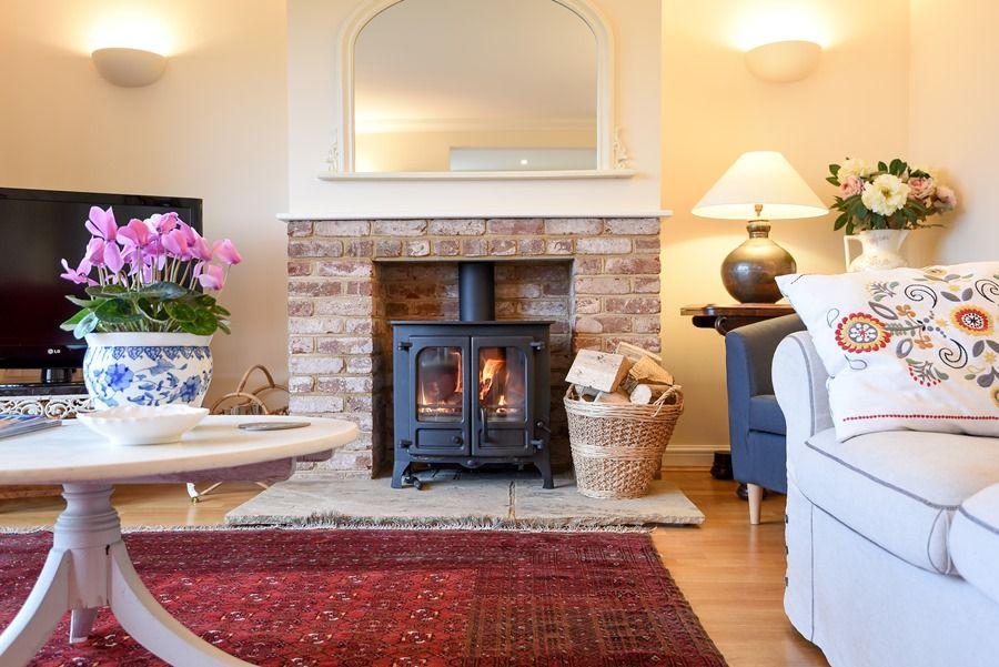 Beech House | Wood burner