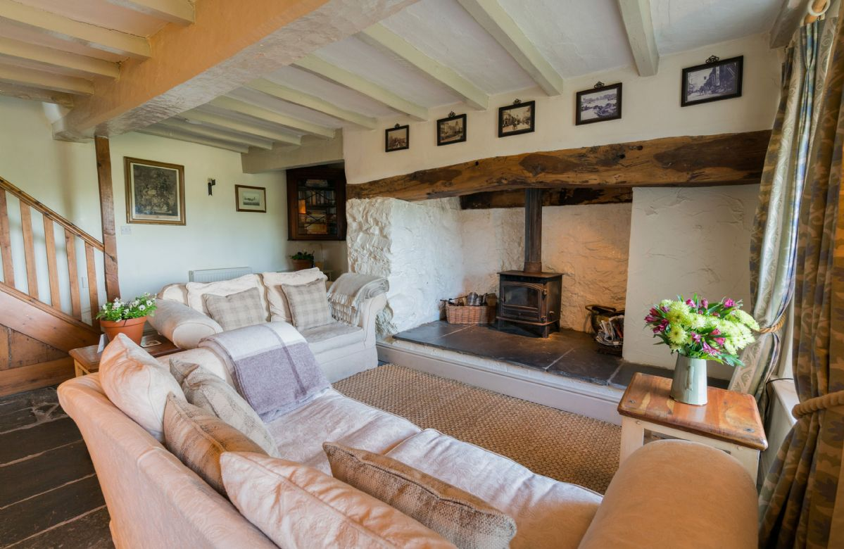 Ground floor:  Snug with wood burning stove