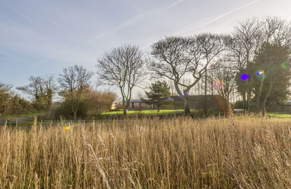 Big Sky Barn is set in beautiful surroundings