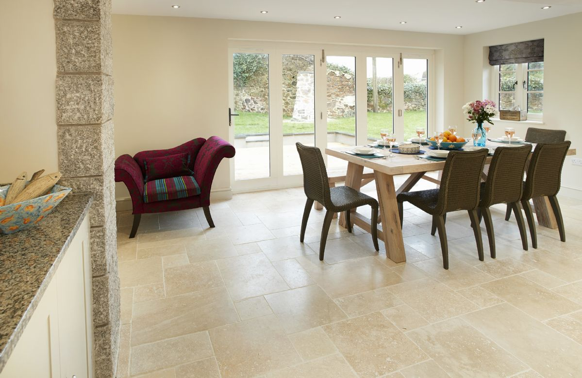 Ground floor: Dining area with views to the garden