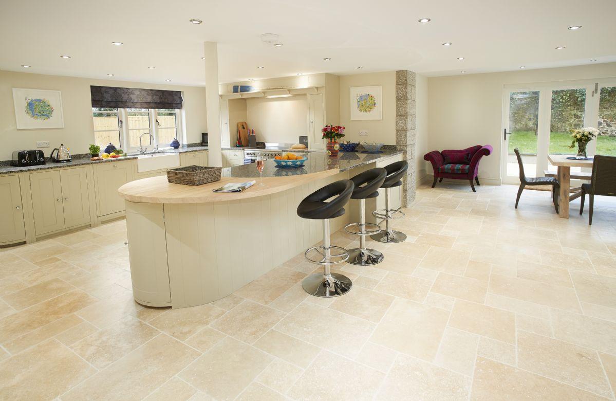 Ground floor: Spacious Neptune kitchen/dining area with panoramic bi-fold doors