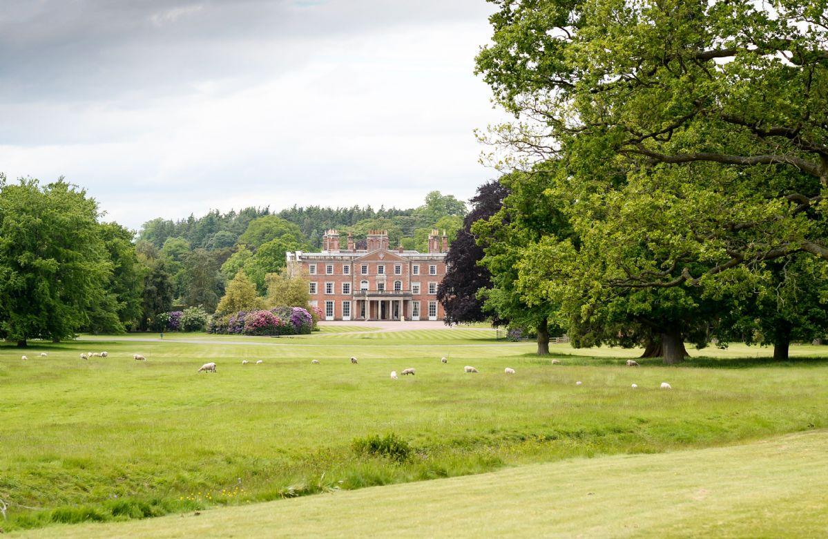 Weston Park, Shropshire, England