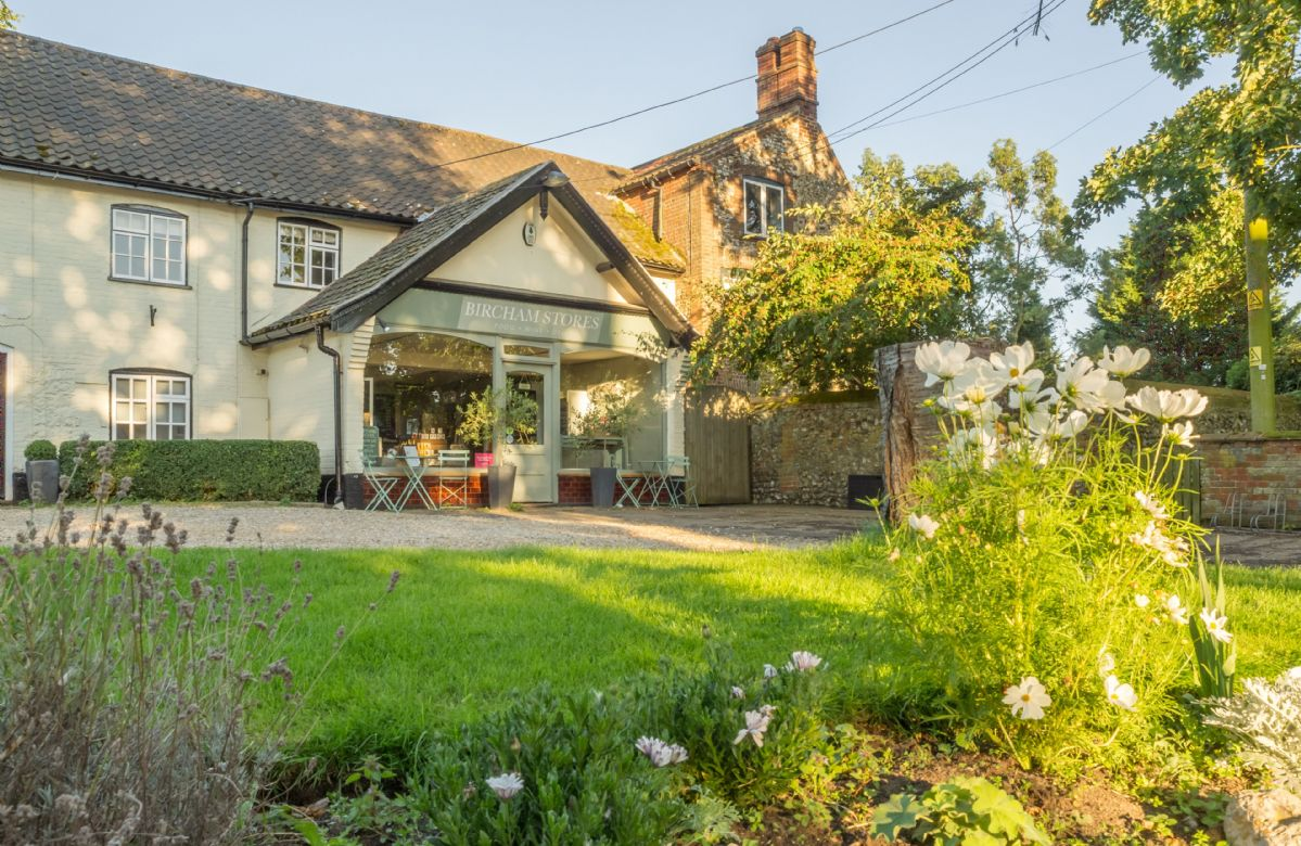 The Bircham Stores and Cafe is on the doorstep selling a delicious array of homemade dishes
