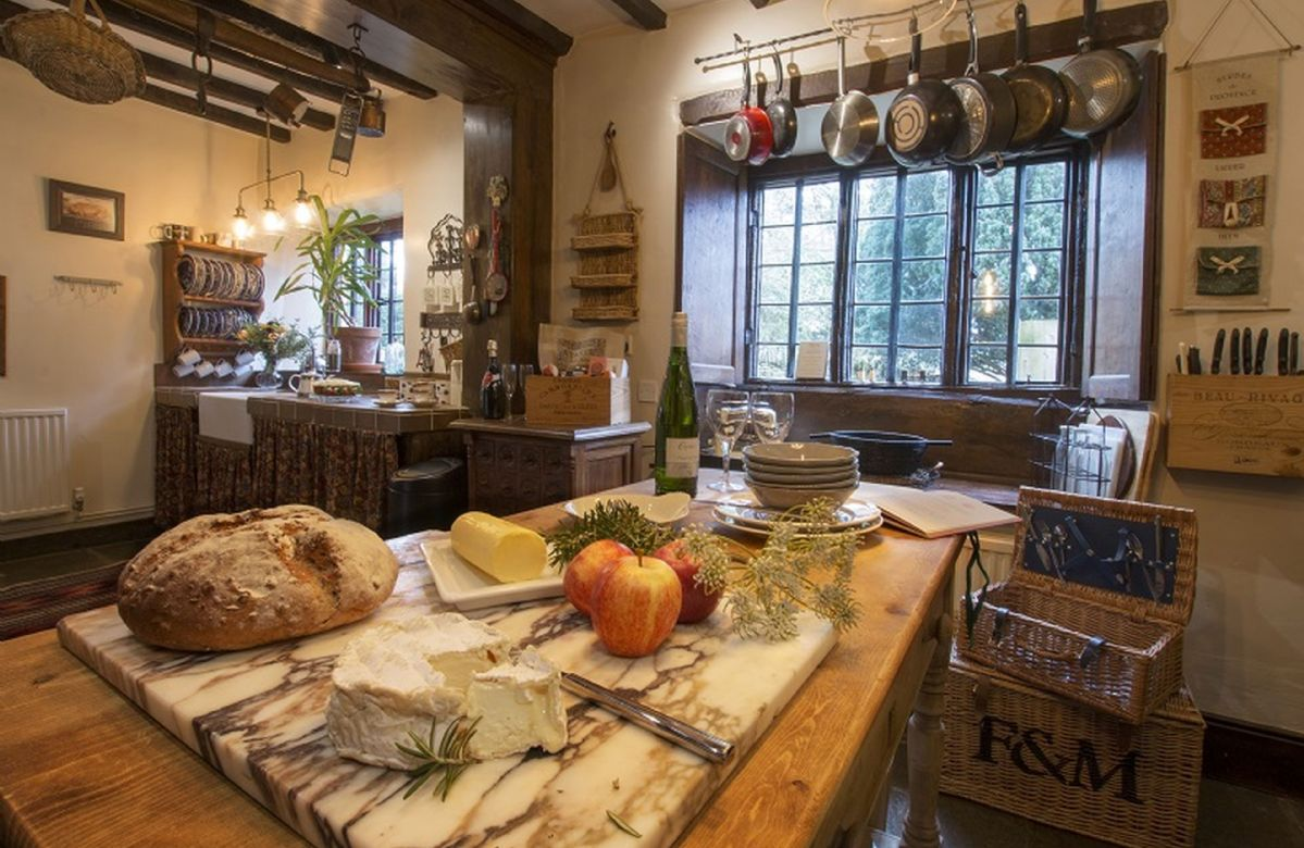 Ground floor: Characterful country kitchen with traditional pantry